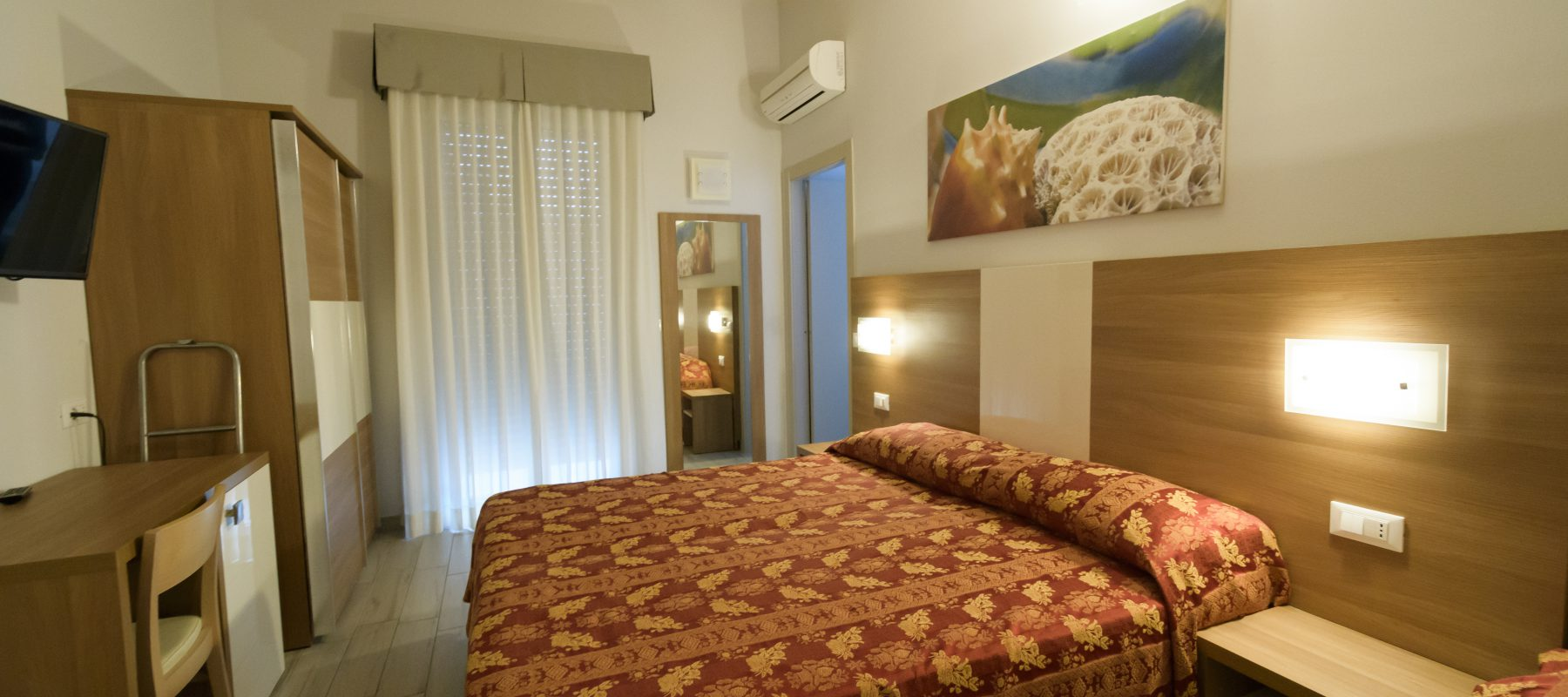 Comfortable rooms for special breaks